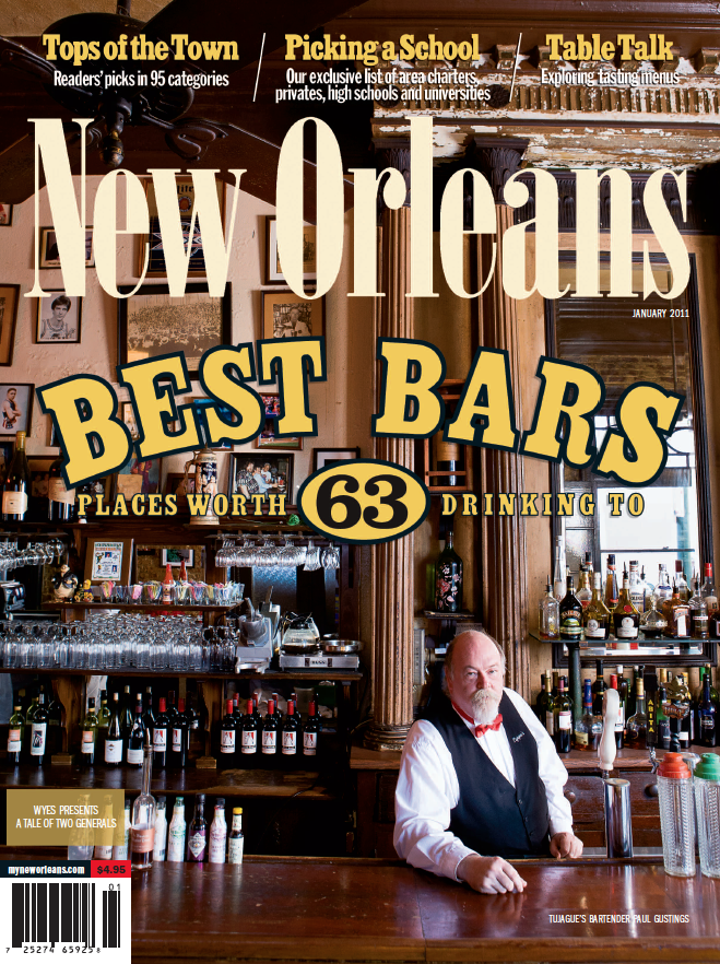 New Orleans Magazine January 2011